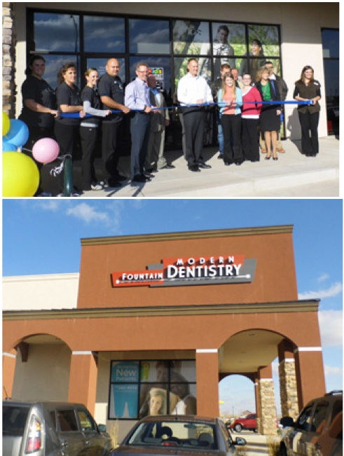 Grand Opening Fountain Modern Dentistry Fountain Colorado